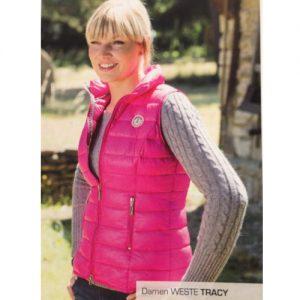 Esparado bodywarmer Tracey roze