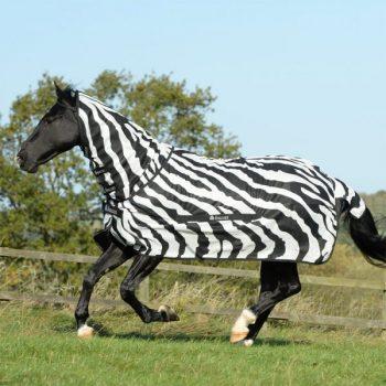 Bucas buzz-Off zebra full neck